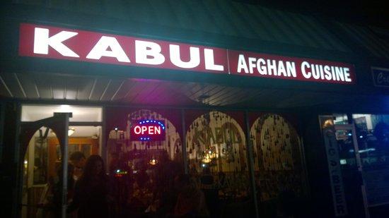 Kabul Restaurant Afghani Cuisine: Retaurant exterior