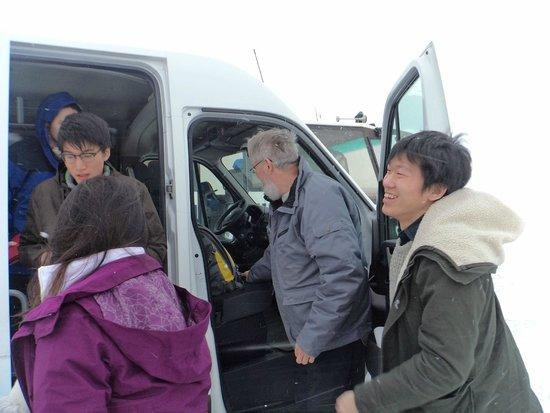 Gateway to Iceland : Steinthor and van on South Coast tour