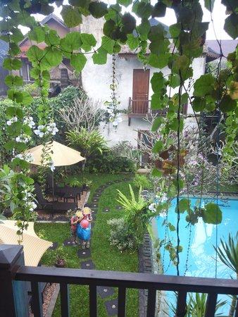 Villa Puriartha: 部屋からの眺め