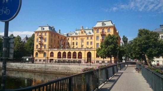 Elite Grand Hotel Gävle : Hotellets fasade