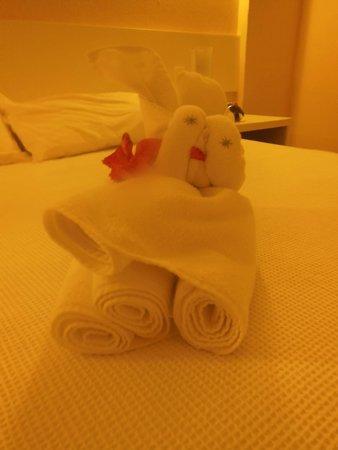 BEST WESTERN Solar Porto de Galinhas : toalhas de banho.. um mimoo