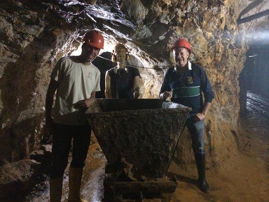 Zaruma, Ekwador: Inside the mine