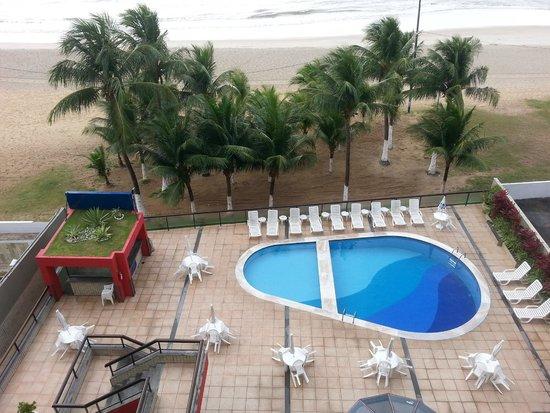Hotel Dan Inn Mar Recife: Vista diurna do Apartamento