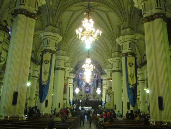 Catedral Metropolitana: interiorr
