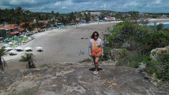 Gaibu Beach: Vale a pena a subida, pena que a maré estava baixa, na maré alta é ainda mais bointo!