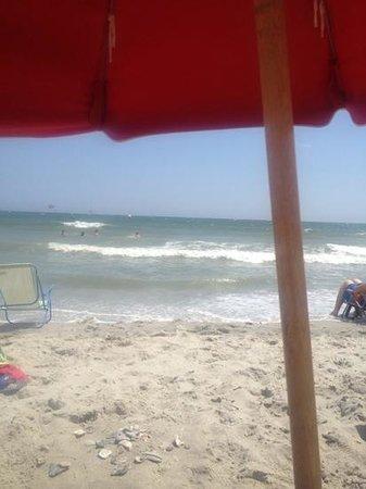 Sandy Beach Resort: view from the beach