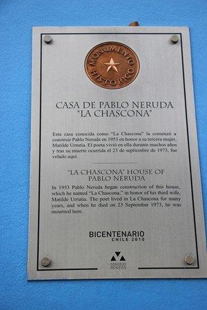 La Chascona Casa Museo: La Chascona