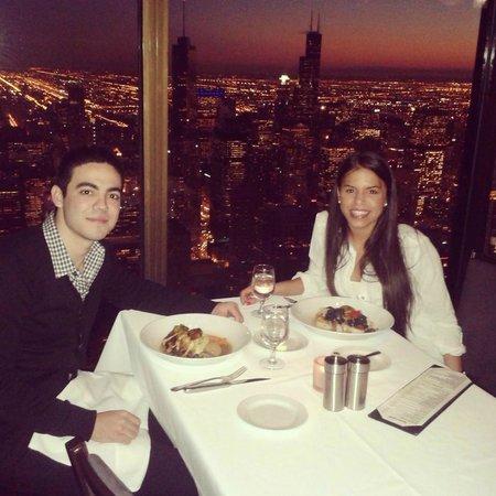 Deliciosa comida en las alturas! - Picture of The Signature Room ...
