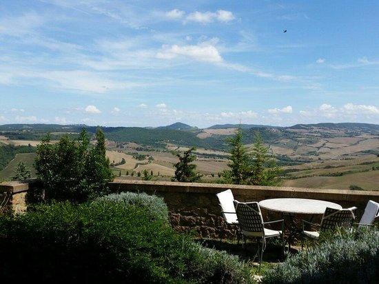 Piccolo Hotel La Valle Pienza : Vista dal balcone claudio c.