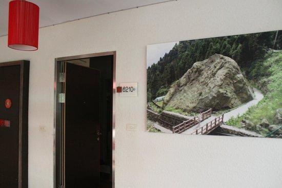 Xitou Leader Hotel: 房門口