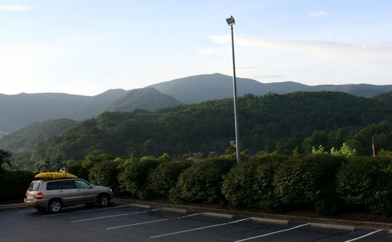 BEST WESTERN Smoky Mountain Inn: The views were amazing!