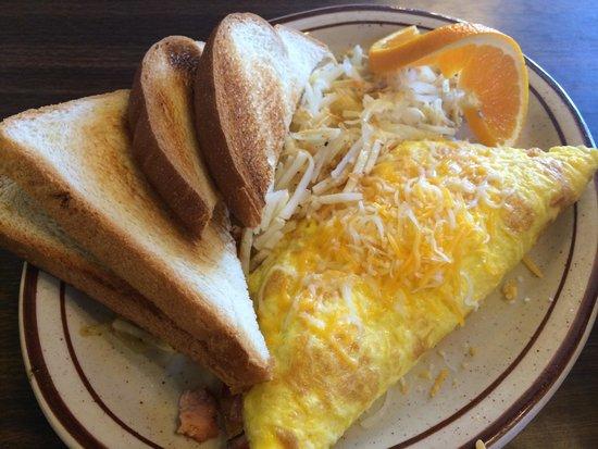 Duke's SlickRock Grill: Omelette prosciutto e formaggio