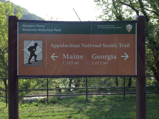 Appalachian Trail Picture Of Harpers Ferry National Historical - Trip advisor harpers ferry