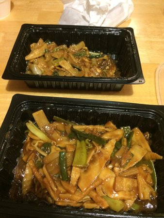 Dynasty Chinese Restaurant: Hopefully, you like bamboo shoots for the main part of your dish! This is the Mongolian beef and