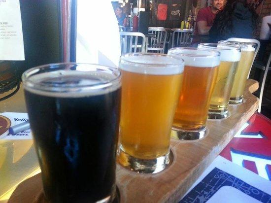 JL Beers: My Beer FLIGHT