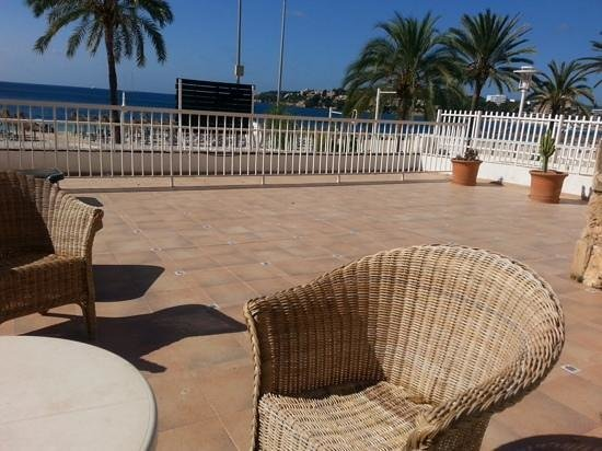 Flamboyan Caribe: our balcony
