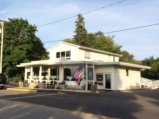The Inn at Kristofer's: Outside from across the street