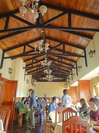 Hotel Mabey Cusco : レストラン(最上階)