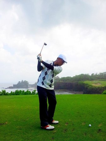 Nirwana Bali Golf Club: Backswing