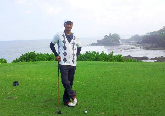 Nirwana Bali Golf Club: Selfie