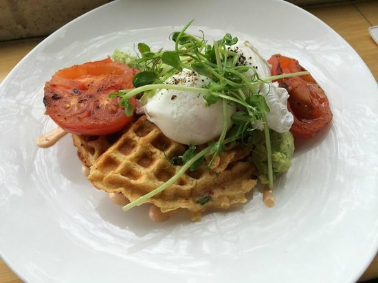 Morries Anytime: Chives Waffle