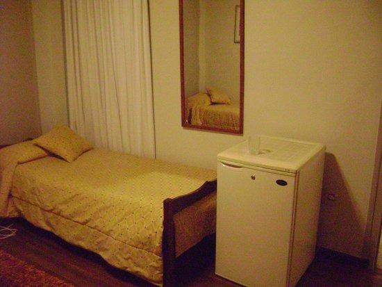 Plaza Hotel: Heladera en la Habitación!!!