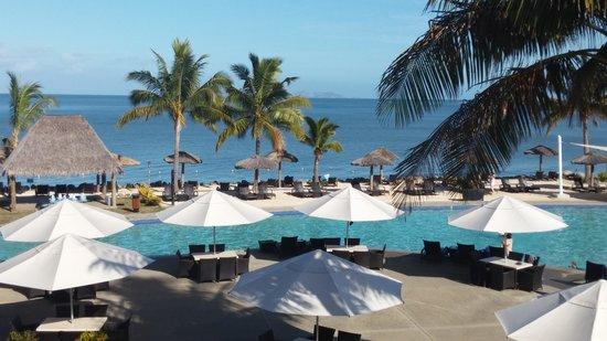 Wyndham Resort Denarau Island: view from ocean front unit
