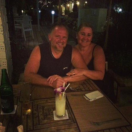 Kantary Bay, Phuket : Last eveing at Hotel at the Seafood resturant which was also amazing