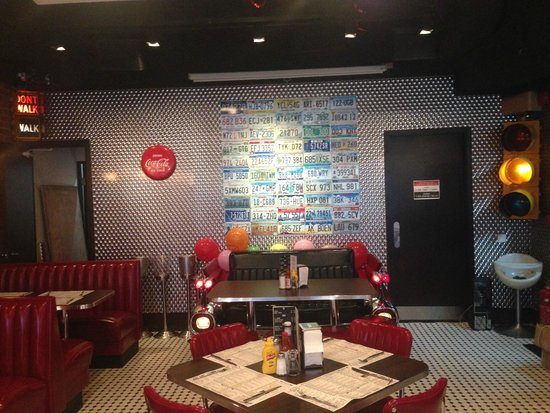 The Diner All 50 States On Our License Wall