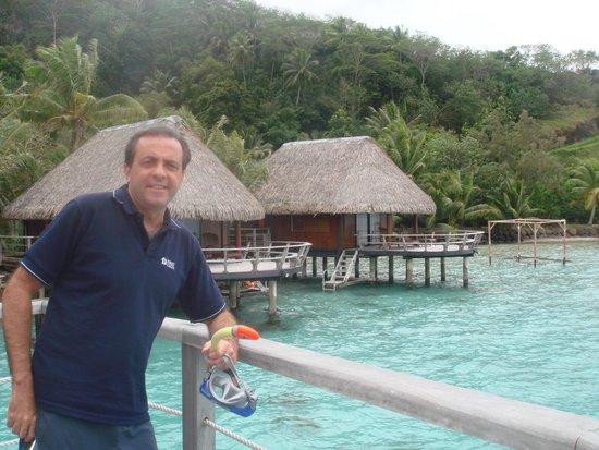 Sofitel Bora Bora Marara Beach Resort : Los palafites una forma única de habitación