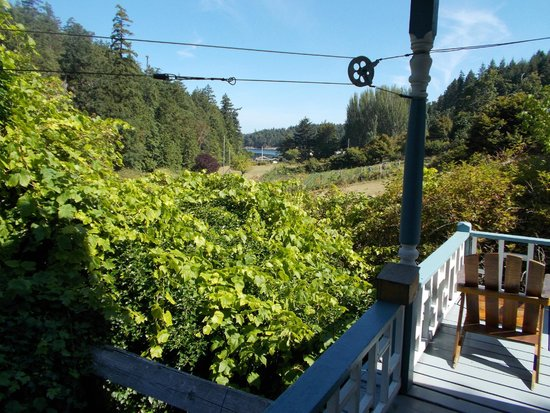 Breezy Bay Bed and Breakfast: View from the veranda