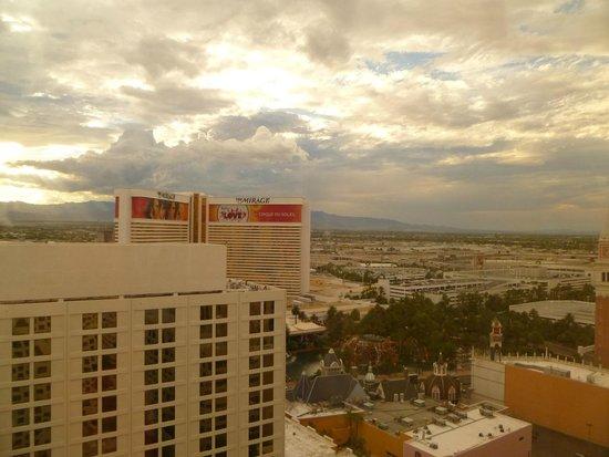 Harrah's Las Vegas: Vista desde la habitacion