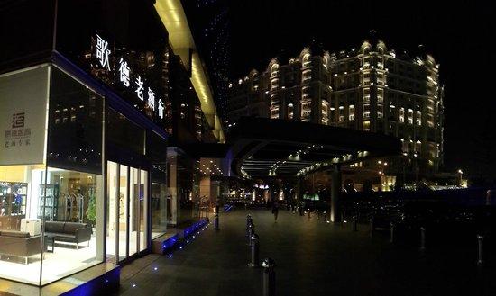 Regent Beijing : Hotel main front