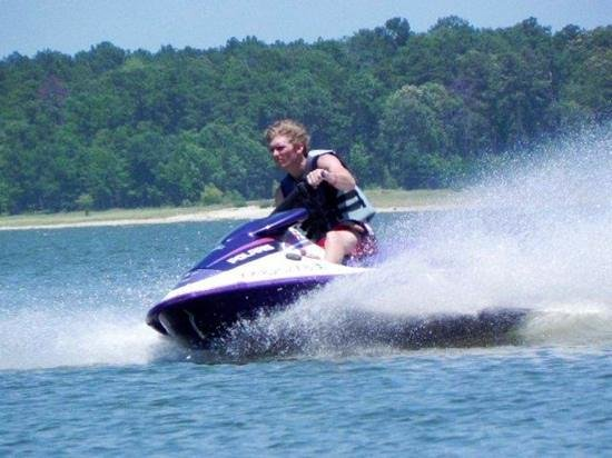 Broaddus, TX: jet ski fun!