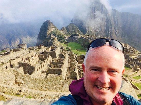 Santuario Histórico de Machu Picchu: selfie