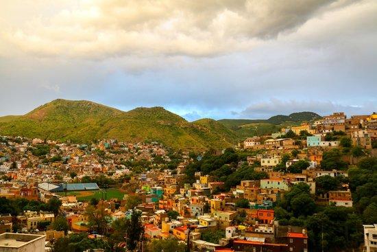 Casa de Dante Hostel: Guanajuato en la azotea!!