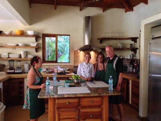 Los Altos de Eros: cooking class with chef!  so fun
