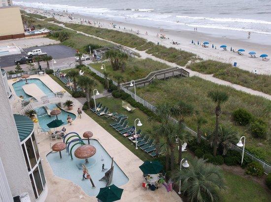 Hampton Inn & Suites Myrtle Beach/Oceanfront: lobby area