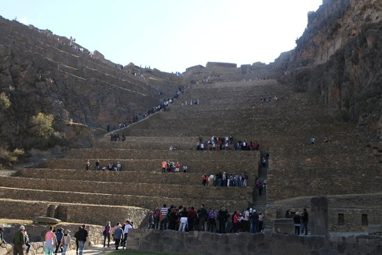 Tempel von Ollantaytambo: The temple