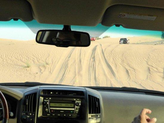 Arabian Adventures: Dune bashing