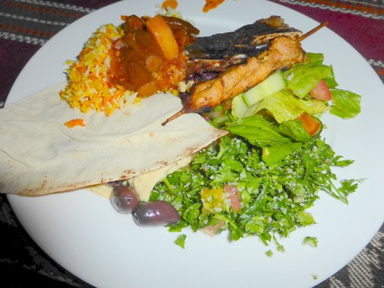 Arabian Adventures: BBQ dinner