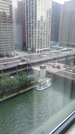 Sheraton Grand Chicago: View from bedroom