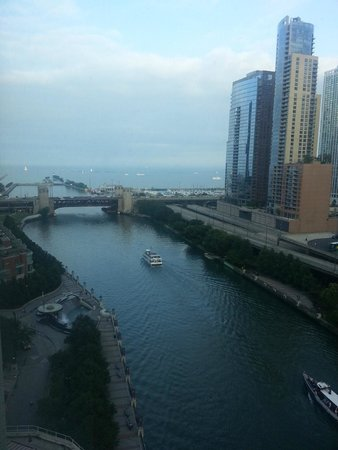 Sheraton Grand Chicago: View from suite