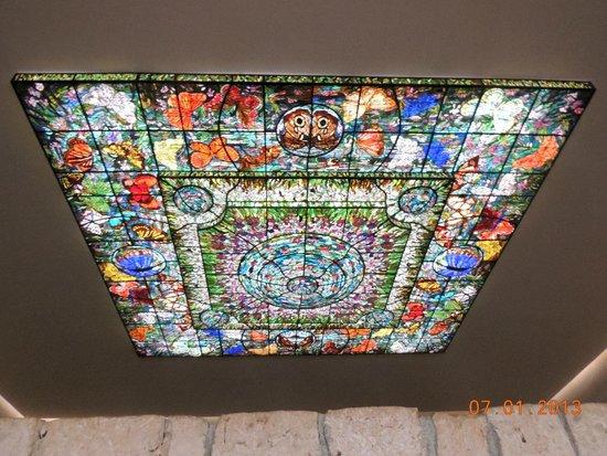 Xcaret Eco Theme Park: Amazing glass cieling