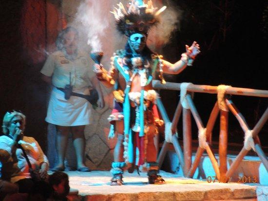 Xcaret Eco Theme Park: Night show