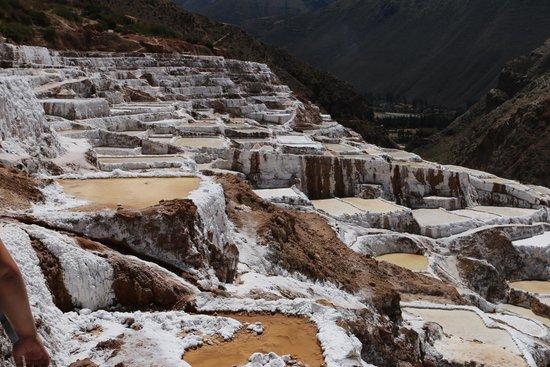 Salinas de Maras: The salt flats