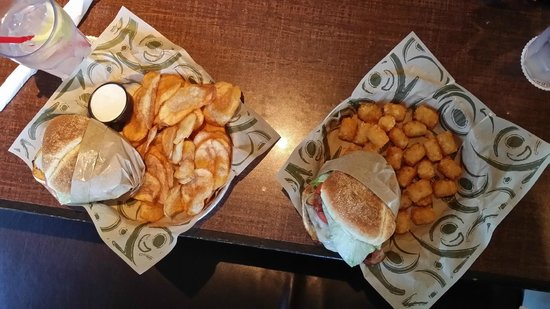 Hop Jacks: Guacamole Burgers with two different sides