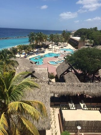 Sunscape Curacao Resort Spa & Casino - Curacao: view from our room