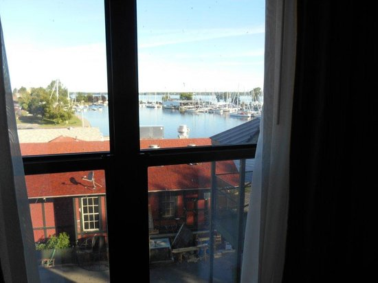 Ontario Place Hotel now Harbor House Inn: View from the windows in room 312.