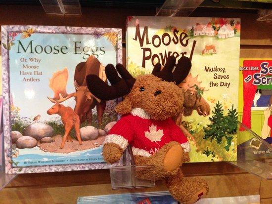 Auk Island Winery: Moose themed kid's books